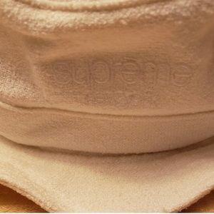 NEW Supreme Classic Logo Terry Crusher White M/L